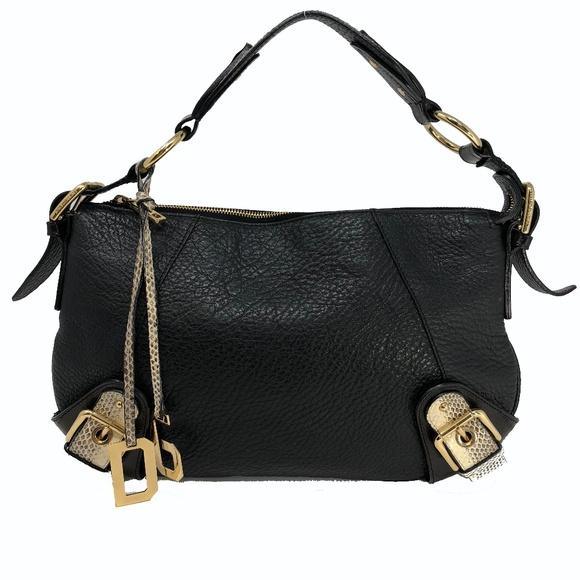 5ccb249dcf2 Dolce & Gabbana Bags | Nwot Dolce Gabbana Snake Eel Leather Handbag ...